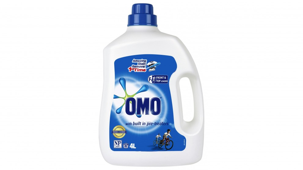Omo Active Clean 4L Front & Top Loader Washing Liquid