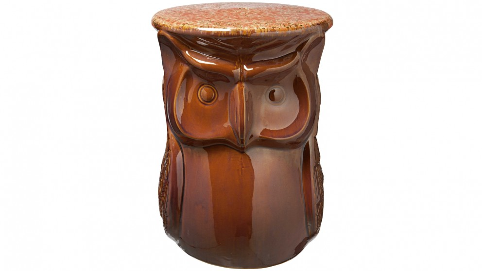 Hoot Owl Stool - Red