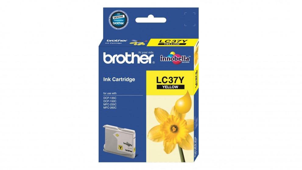 Brother LC-37 Ink Cartridge - Yellow
