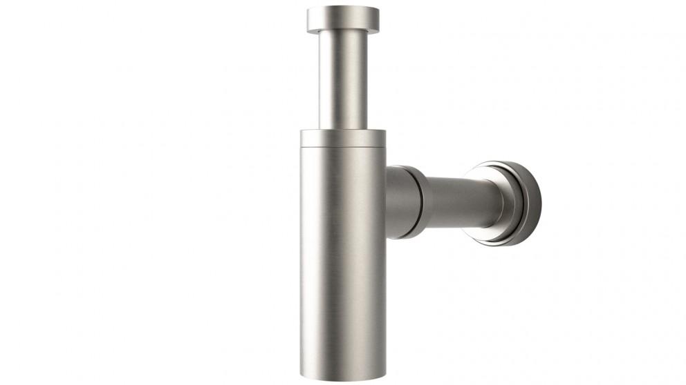 Caroma Vogue 40mm Bottle Trap - Brushed Nickel