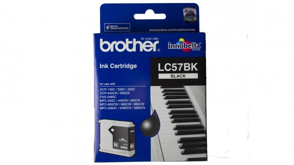 Brother LC-57BK Black Ink Cartridge