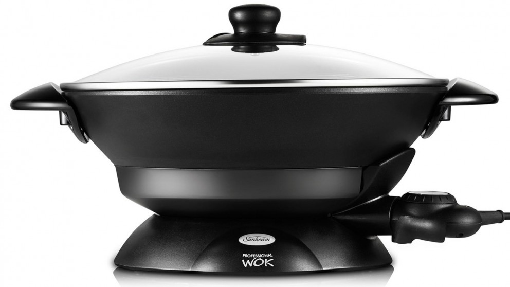 Buy Sunbeam Professional Non-stick Electric Wok | Harvey Norman AU