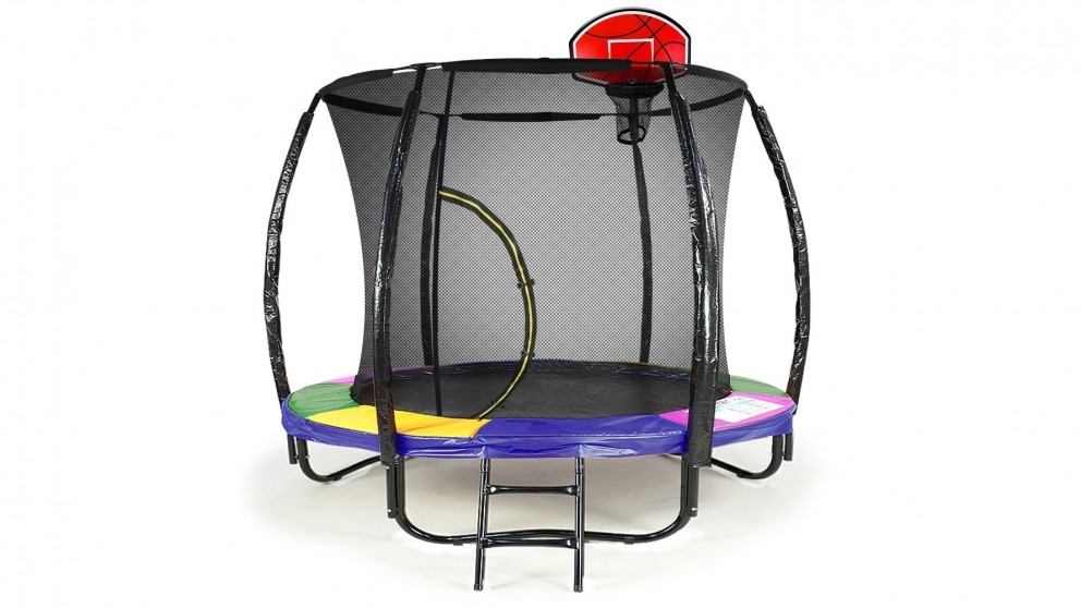 Kahuna 6ft. Basketball Trampoline - Rainbow