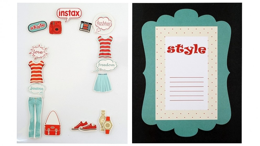 Instax Frame Decoration Kit - Fashion