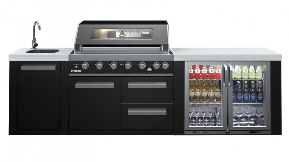 Everdure Neo Black 6 Burner Outdoor Kitchen