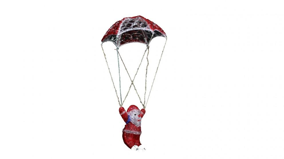 Lexi Lighting Acrylic Parachuting Santa - 60cm