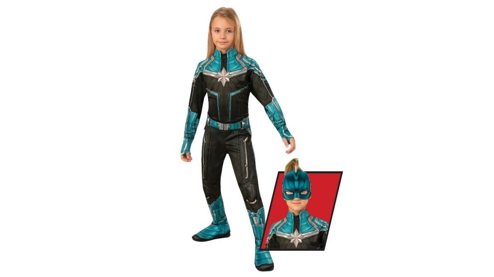 Captain Marvel Kree Child Costume