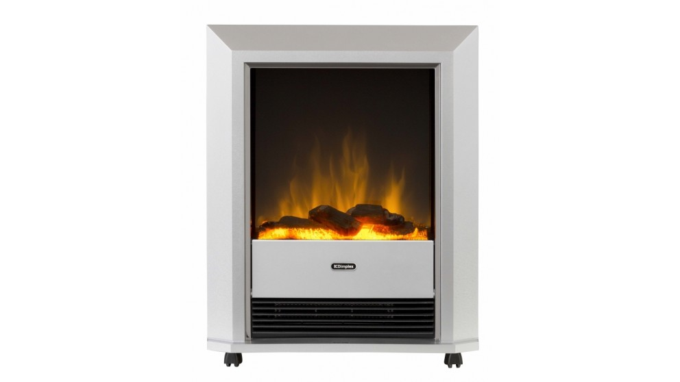 Dimplex Electric Fire Heater Lee Silver