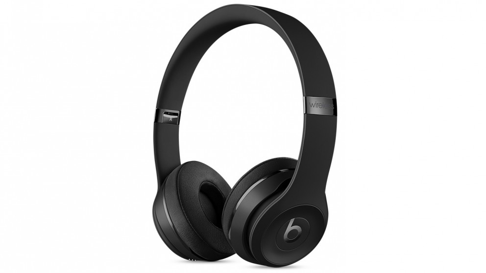 914ddad3c73 Cheap Beats Solo3 Wireless On-Ear Headphone – Black | Harvey Norman AU