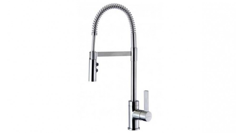 Methven Culinary Gaston Gooseneck Pull Down Kitchen Mixer - Satin