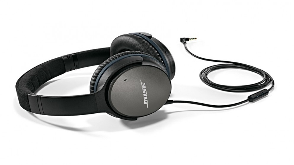 bose gaming headphones. bose quietcomfort 25 noise cancelling over-ear headphones for samsung and android devices - black gaming