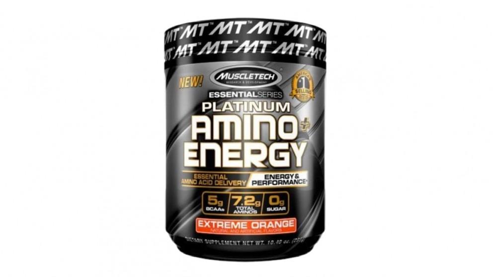 Muscletech Platinum Amino Energy Extreme Orange - 288g