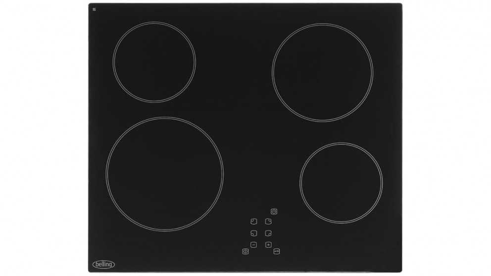 Belling 600mm Ceramic Hob with Touch Controls Cooktop - Black