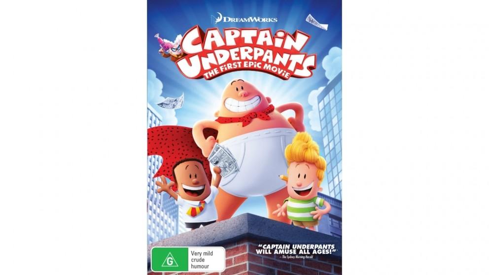 Captain Underpants - DVD