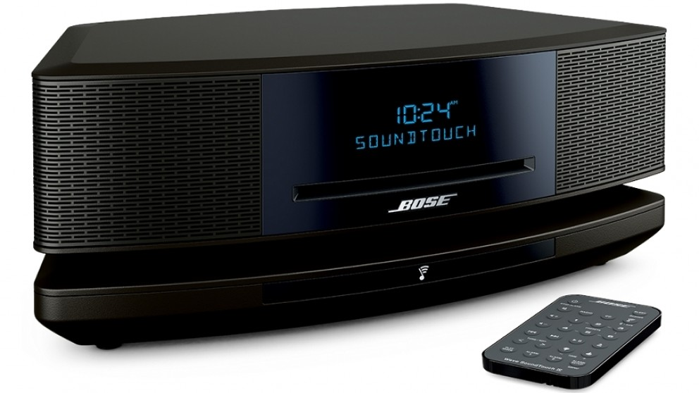 harvey norman bose wave soundtouch iv wireless multiroom system black compare club. Black Bedroom Furniture Sets. Home Design Ideas
