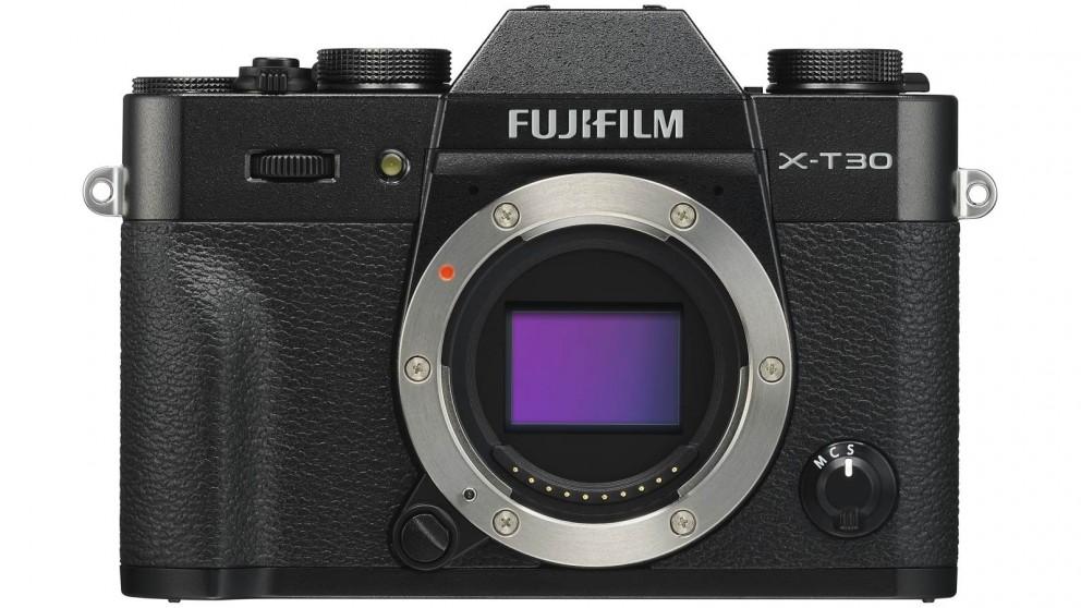 Fujifilm X-T30 Mirrorless Camera Body Only - Black