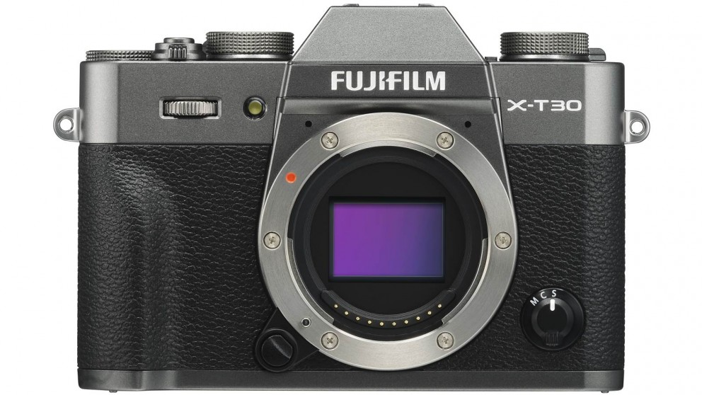 Fujifilm X-T30 Mirrorless Camera Body Only - Charcoal Silver