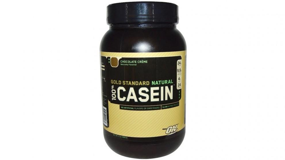 Optimum Nutrition Gold Standard 100% Casein Chocolate Cream - 909g