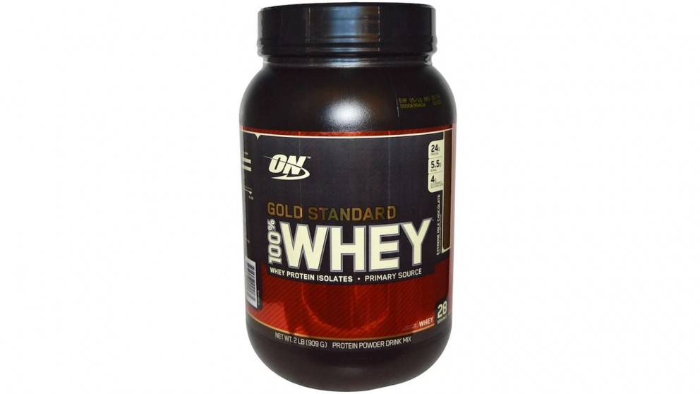 Optimum Nutrition Gold Standard 100% Whey Double Rich Choc - 909g