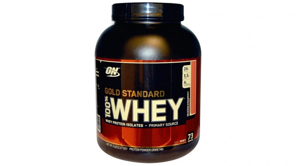 Optimum Nutrition Gold Standard Whey Delicious Strawberry - 2.27kg