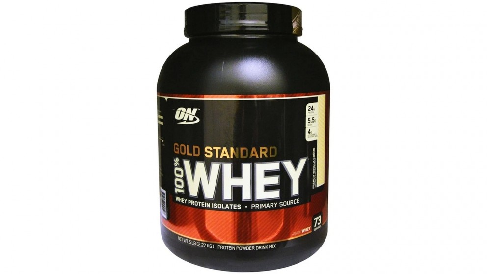 Optimum Nutrition Gold Standard Whey French Vanilla Creme - 2.27kg
