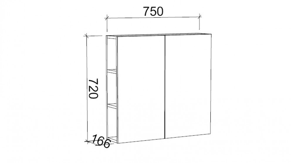 Buy timberline munich 750 shaving cabinet harvey norman au for Bathroom cabinets harvey norman