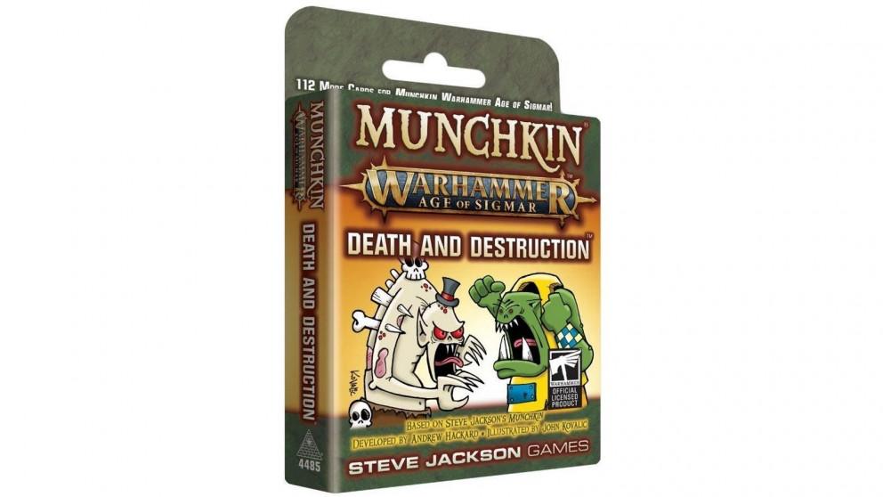 Munchkin Warhammer Age of Sigmar - Death and Destruction Expansion