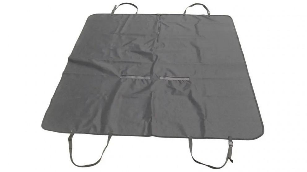 Serrano Dog Car Back Seat Cover Hammock Waterproof - Black