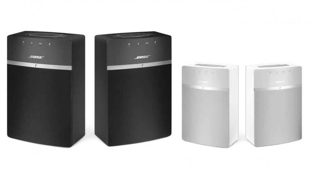 Bose Soundtouch 10 X 2 Wireless Starter Pack Speaker Wireless Speakers Stands Sound