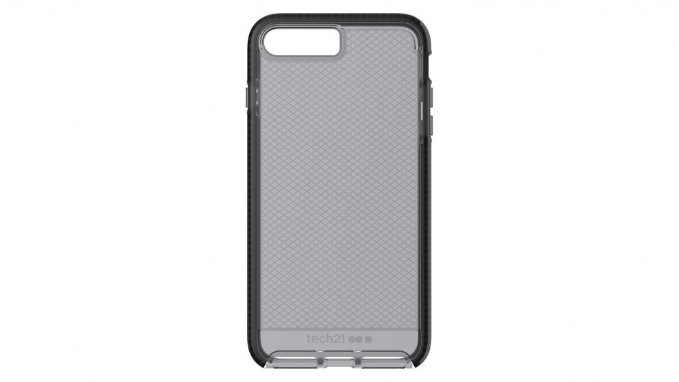 Tech21 Evo Check Case for iPhone 8 Plus - Smokey Black