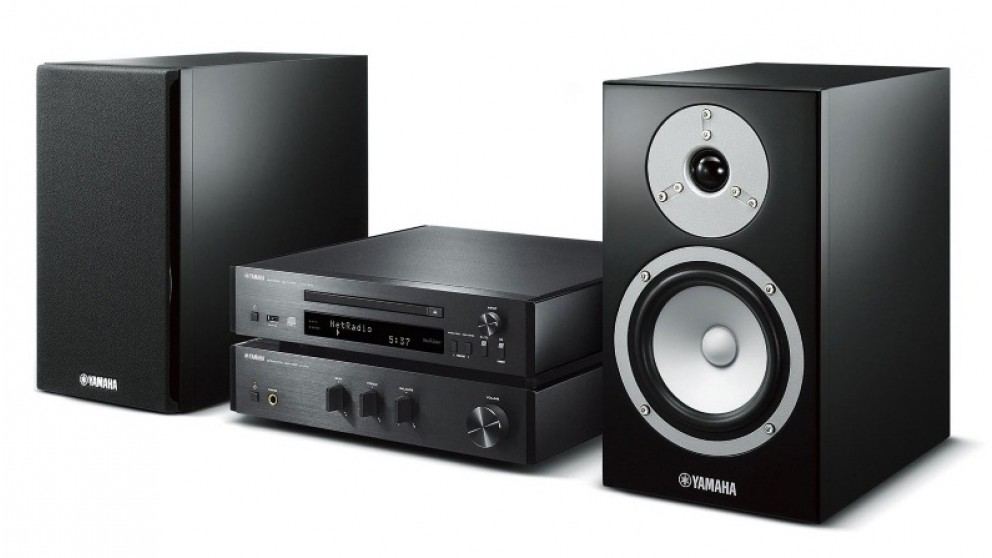 Yamaha MusicCast Wireless Multiroom Micro System - Black