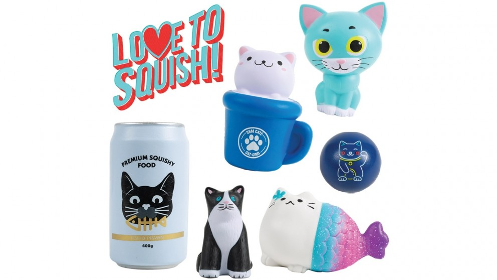 Squishy Cats Showbag