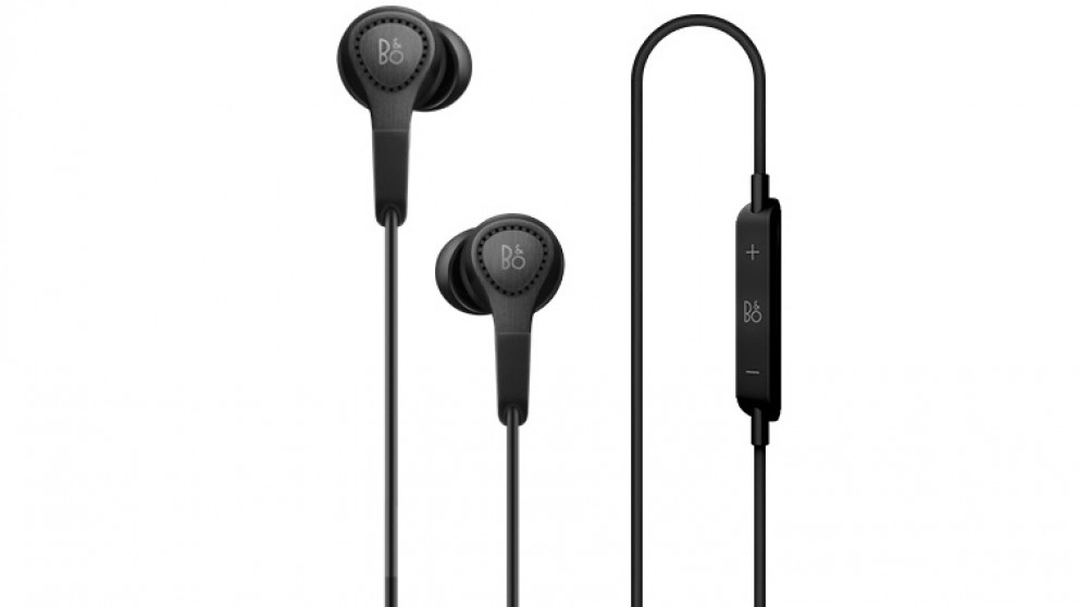 B&O PLAY Beoplay H3 Lightweight In-Ear Headphones - Black