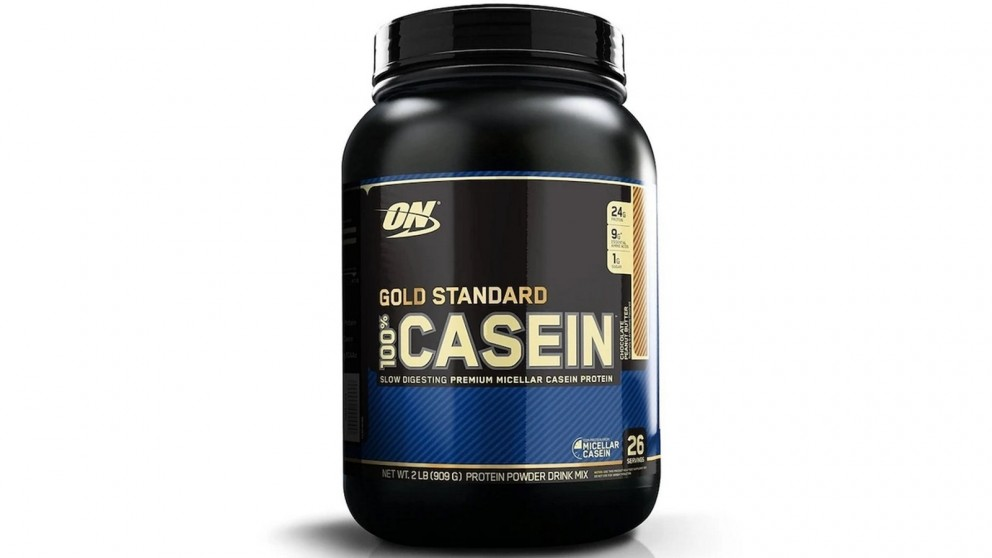 Optimum Nutrition Gold Standard 100% Casein, Chocolate Peanut Butter - 909g