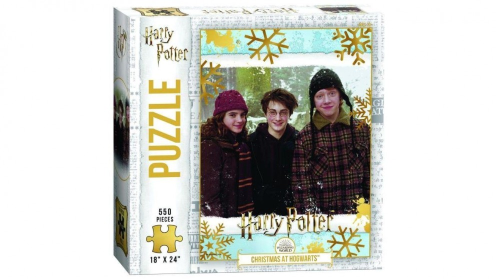 The Op Puzzle Harry Potter Christmas at Hogwarts Puzzle 550 Pieces