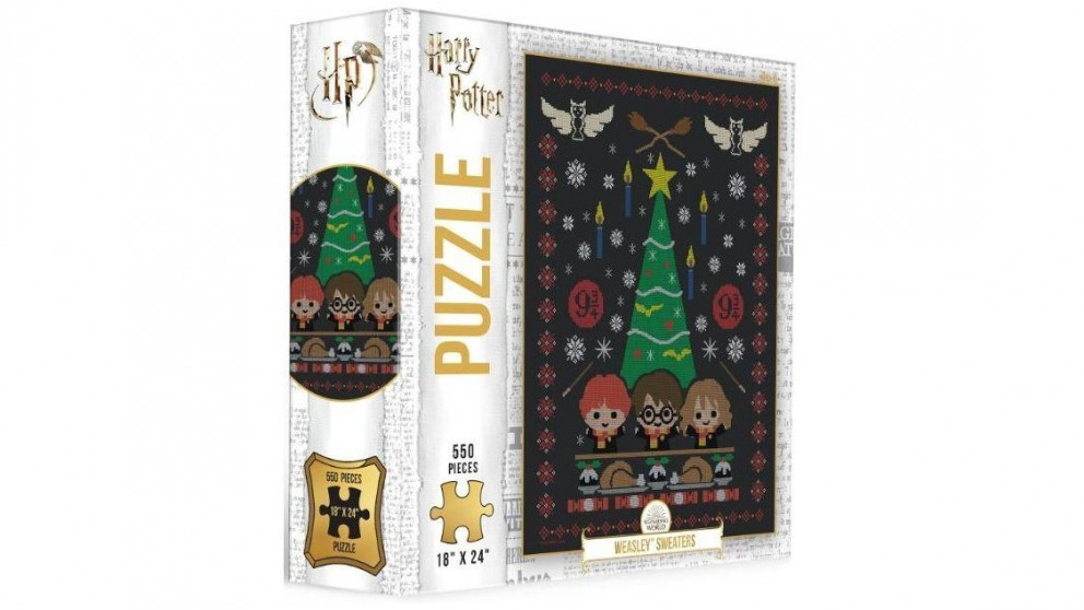 The Op Puzzle Harry Potter Weasley Sweaters Puzzle 550 Pieces