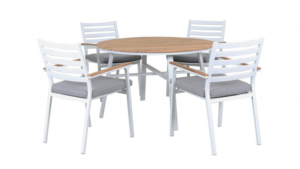 Concorde 5 Piece Round Outdoor Dining Setting Outdoor  : 796391 from www.harveynorman.com.au size 992 x 558 jpeg 50kB