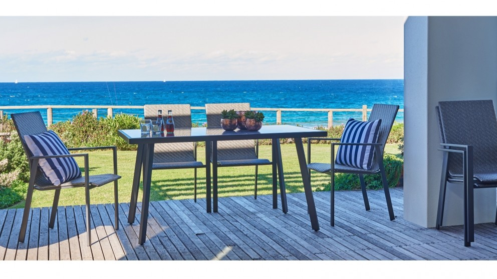 Prima 7 Piece Outdoor Rectangular Dining Setting With 4 Piece Lounge Setting Part 85