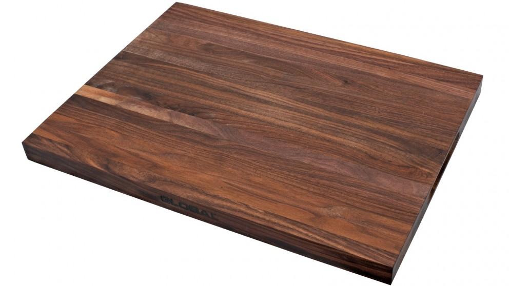 Global Walnut 40cm Cutting Board