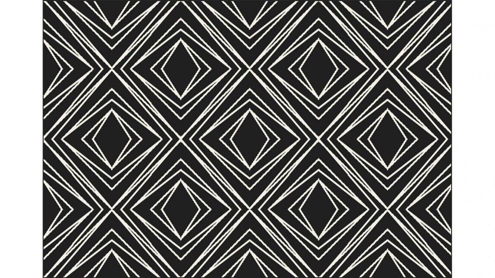 Nifti Style 79755 Black/Creme Medium Rug