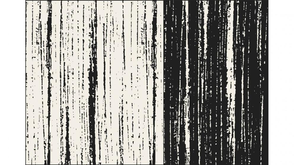 Nifti Style 79757 Black/Creme Medium Rug