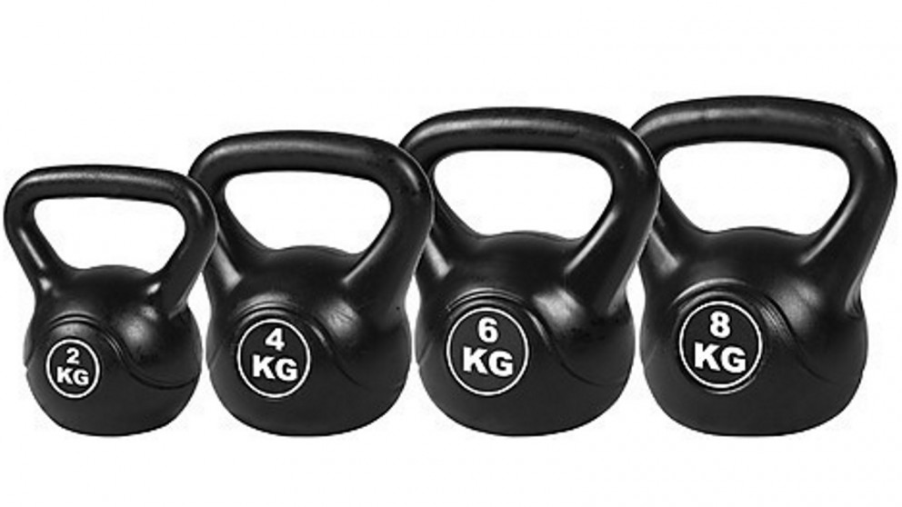 4pcs Exercise Kettle Bell Weight Set of 20KG