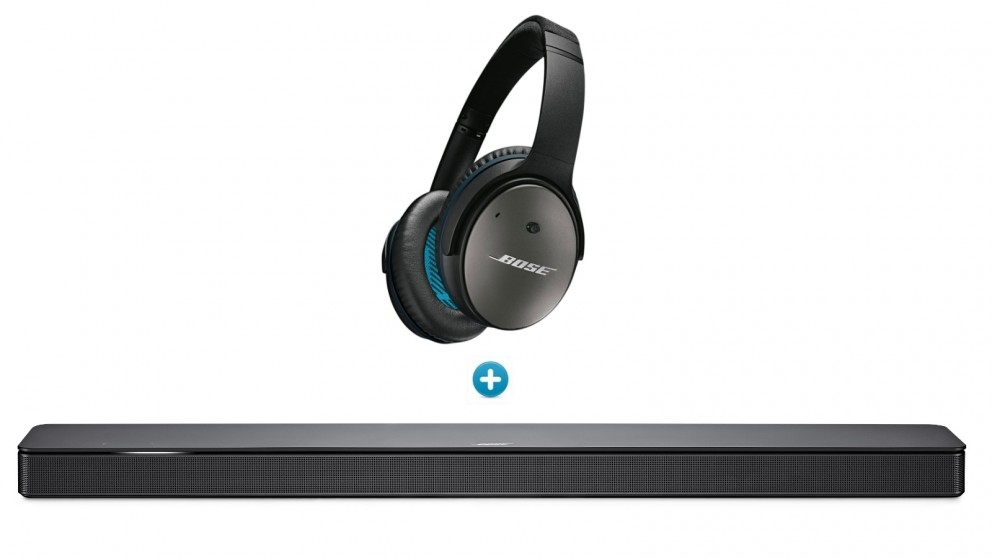 c0278cde958 Buy Bose 500 Soundbar + Bose QuietComfort 25 Headphones for Apple Devices |  Harvey Norman AU