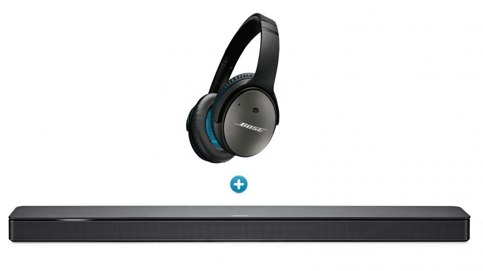 966da5c8a3d Buy Bose 500 Soundbar + QuietComfort 25 Headphones for Samsung and Android  Devices | Harvey Norman AU