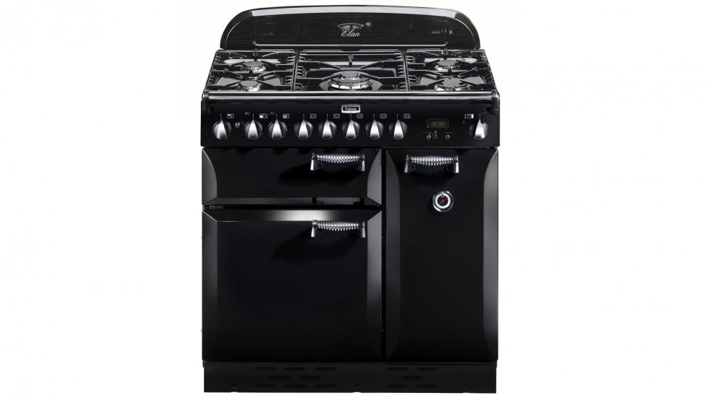 Falcon Elan 900mm Dual Fuel Freestanding Cooker - Black