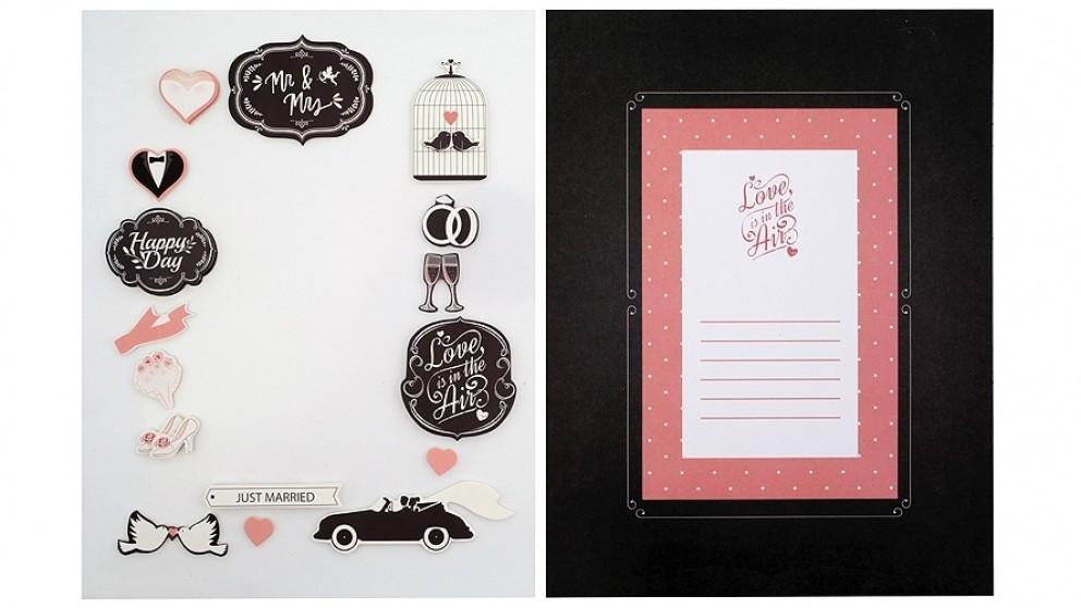 Instax Frame Decoration Kit - Wedding