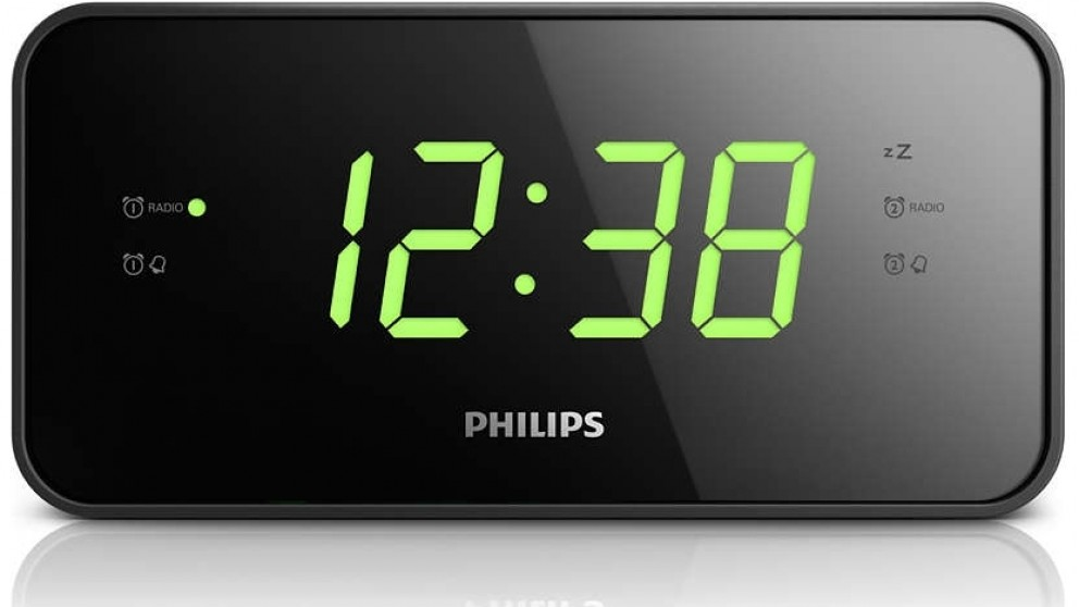 philips digital clock radio radios sound systems headphones audio music harvey norman. Black Bedroom Furniture Sets. Home Design Ideas