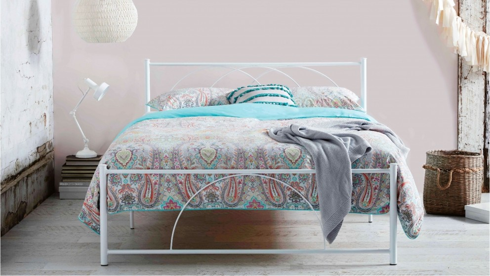 Circ White Bed - Double