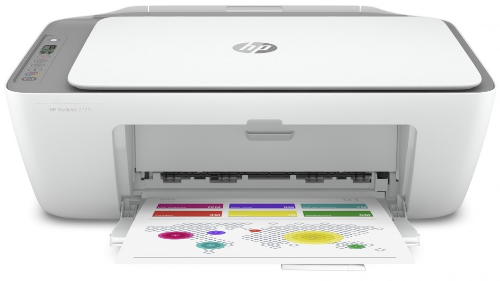 HP DeskJet 2721 All-in-One Printer - Cement