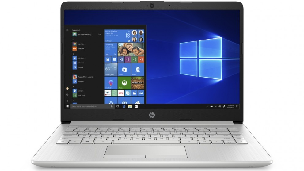 HP 14-inch A6/8GB/128GB SSD Laptop - Natural Silver